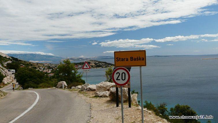 road Stara Baska